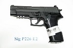 Sig Sauer P226 9mm, 15 Rd, Fixed Sights, Black Finish